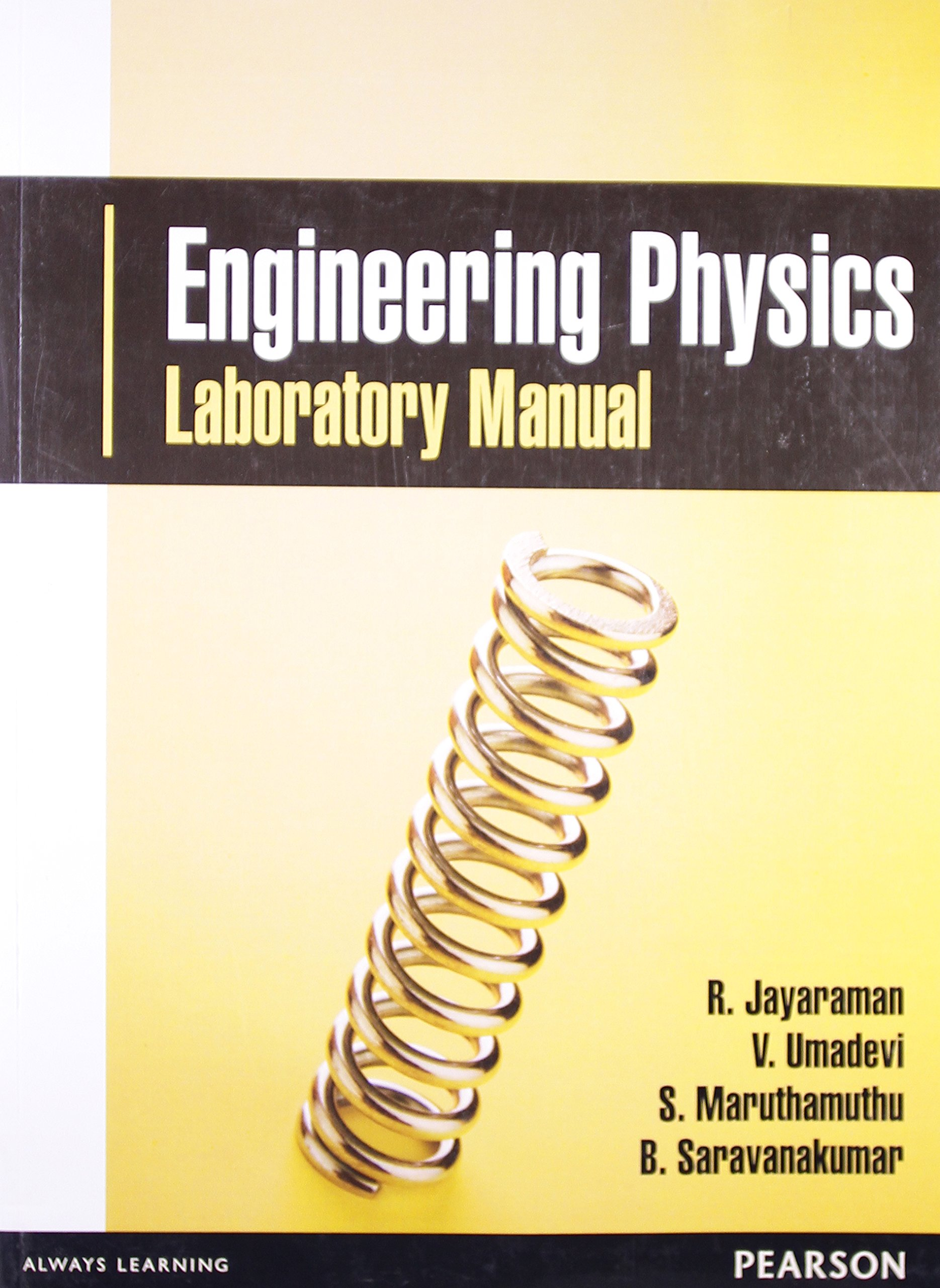 buy engineering physics laboratory manual 1e book online at low rh amazon in engineering physics lab manual for first year engineering physics lab manual for first year ktu