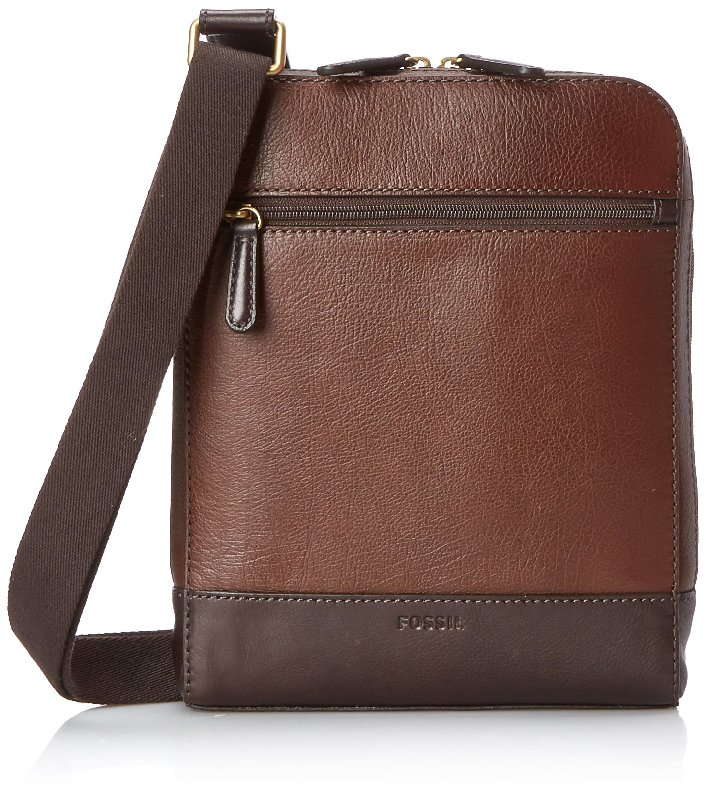 Fossil Rory Courier Bag, Brown, One Size