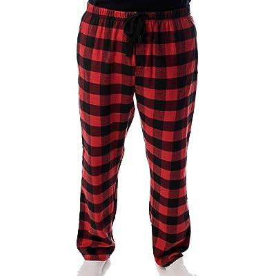 #followme Men's Flannel Pajamas - Plaid Pajama Pants for Men - Lounge & Sleep PJ Bottoms at Men's Clothing store