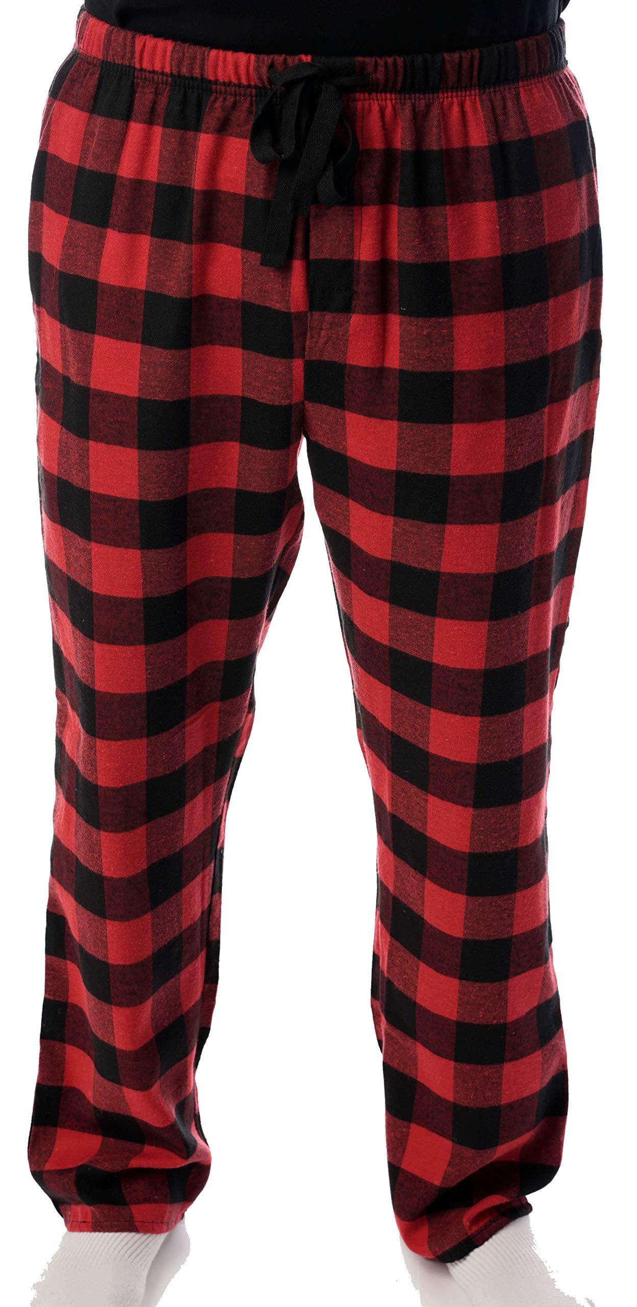 45905-1A-L #followme Mens Flannel Pajama Pants Mens Pajamas by #followme