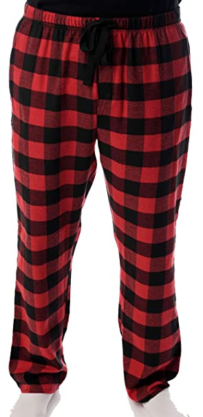 4e1f0b45a680b followme Men's Flannel Pajamas - Plaid Pajama Pants for Men - Lounge ...