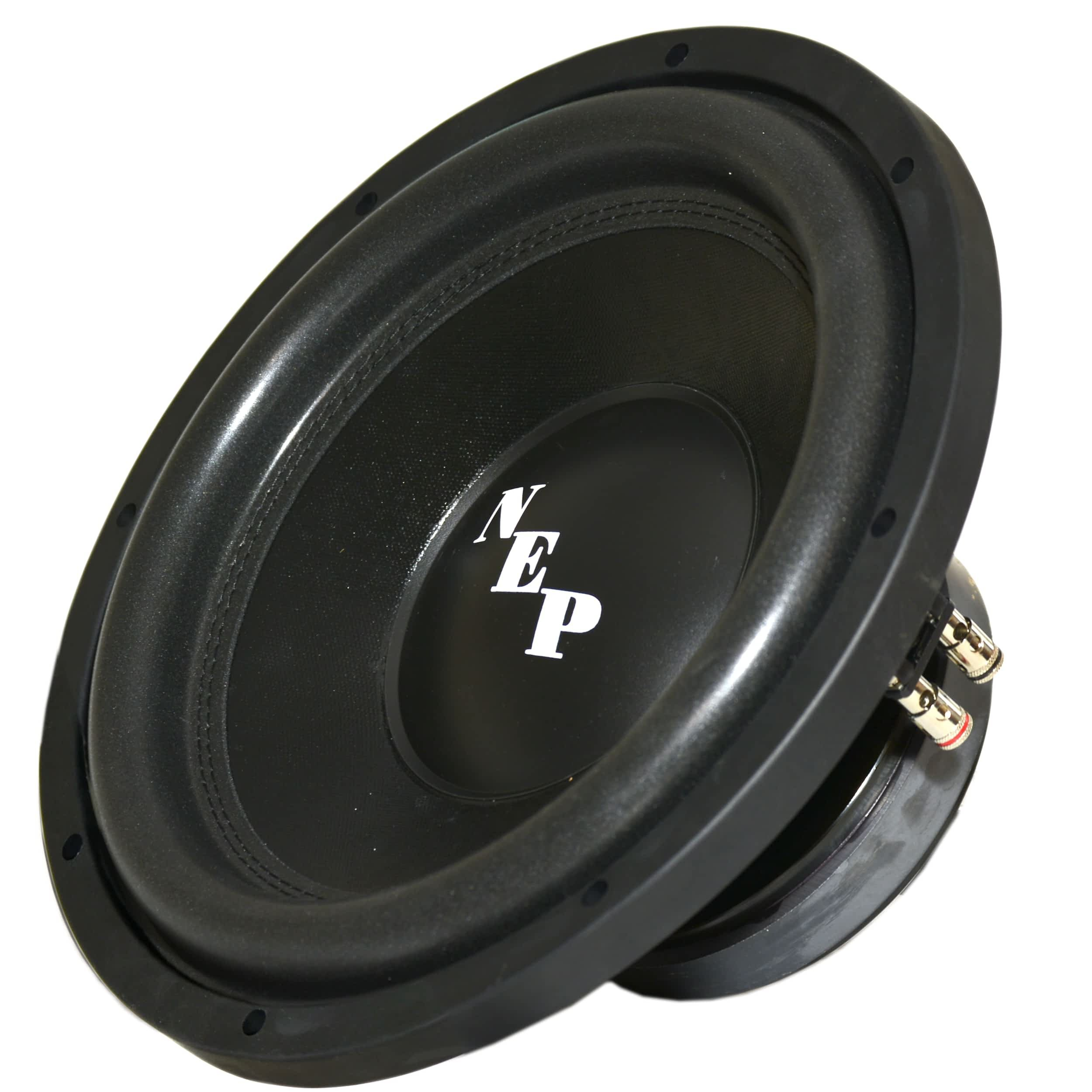 12'' Dual 4 Ohm NEP Light Subwoofer: 350W RMS - 700W Max