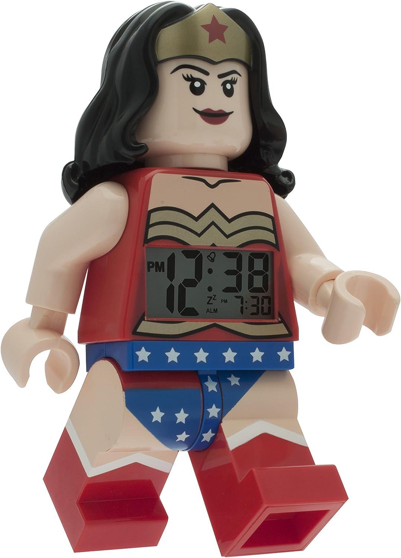 Lego 9009877 DC Universe Wonder Woman Digital Alarm Clock