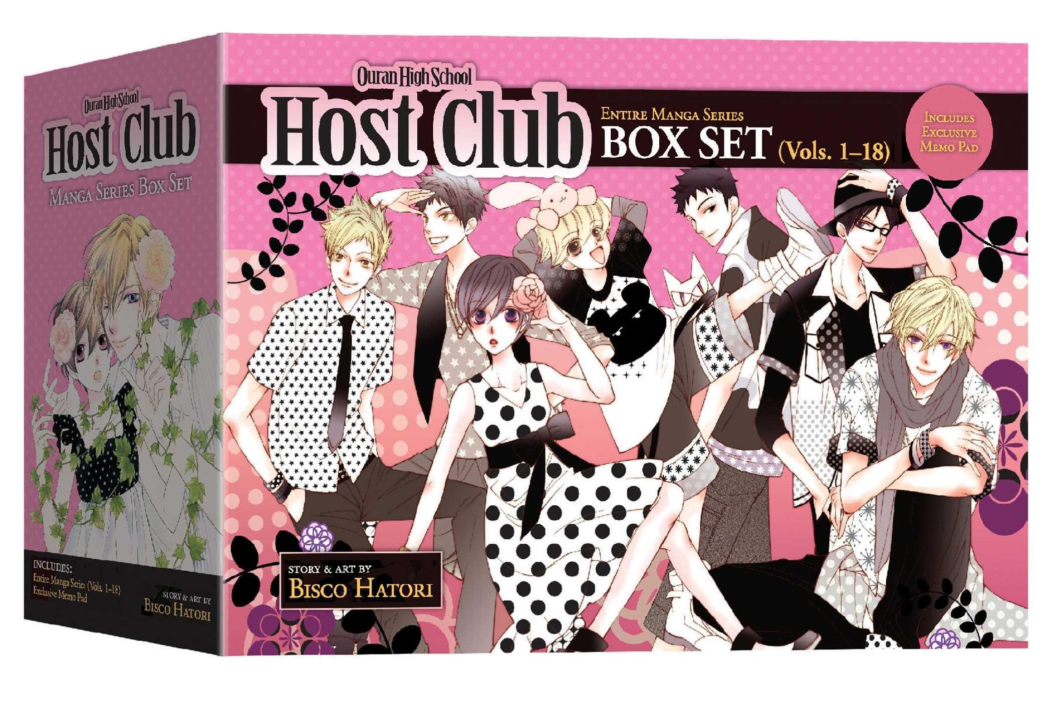Ouran High School Host Club Box Set (Vol. 1-18) WeeklyReviewer