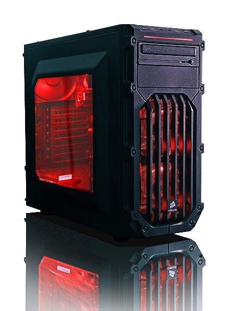 Vibox Centre 4XLW Gaming PC Ordenador de sobremesa con 2 Juegos Gratis, Win 10 Pro, 22
