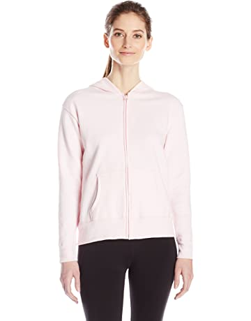 5cffa8ffa1a3 Hanes Women s Full-Zip Hooded Jacket