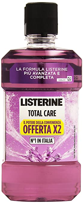 11 opinioni per Listerine- Total Care, Collutorio Completo Offerta, Pacco da 2X500 ml, totale: 1