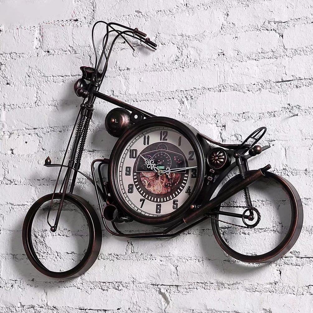 掛け時計 壁掛け 鉄芸 クロック 壁時計 時計 インテリア 壁飾り アンティーク調 個性 SFANY B07CR6YJYP