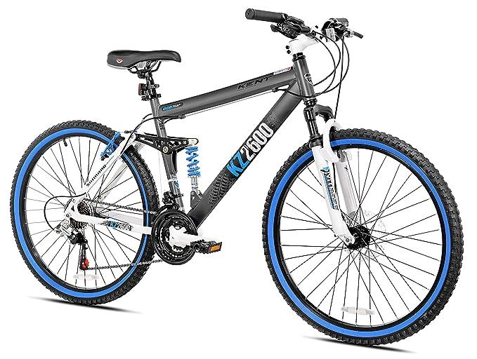 Kent KZ2600 Dual-Suspension Mountain Bike, 26-Inch best downhill bikes
