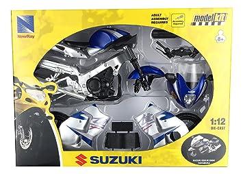 Moto Suzuki GSX-R1300R Hayabusa. Kit de montaje. Escala 1/12 ...