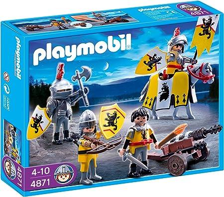 PLAYMOBIL - Tropa de Caballeros del León (4871): Amazon.es: Juguetes y juegos