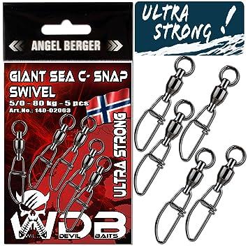 Norwegen Power Wirbel Kugellagerwirbel Meereswirbel Kugellager extra stark