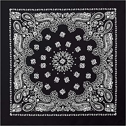 Where did the bandana design come from