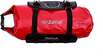 10 litre waterproof bag red black