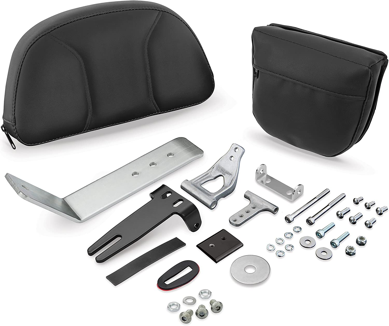 Show Chrome Accessories 41-308 Detachable Smart Mount Backrest