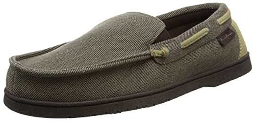 Dearfoams Moccasin, Zapatillas de Estar por casa para Hombre: Amazon.es: Zapatos y complementos