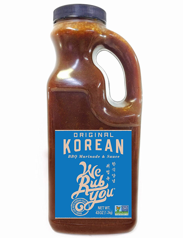 Bulgogi Sauce Kalbi Marinade Original Korean BBQ We Rub You 43 oz (Pack of 1)