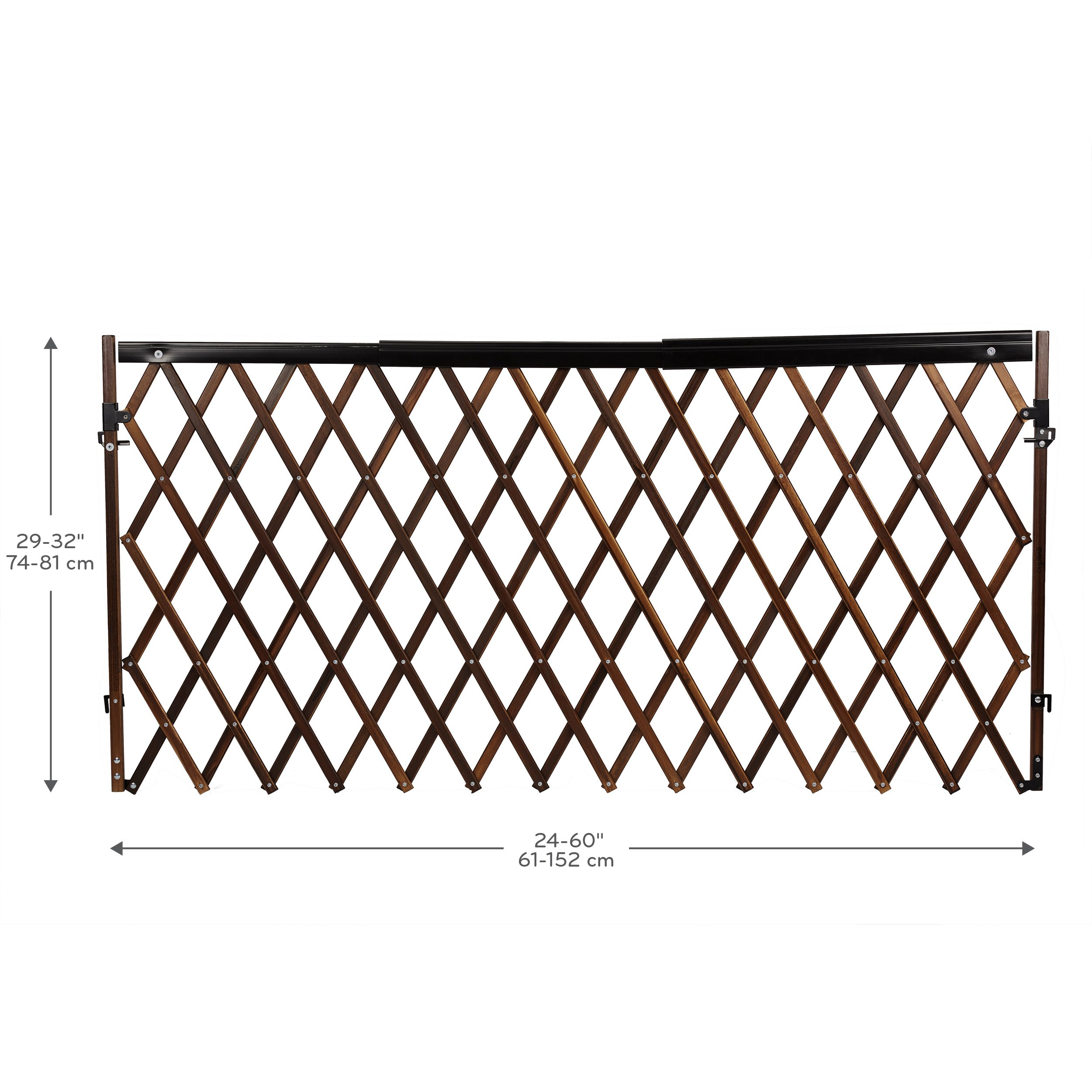 Evenflo Home Decor Wood Swing Gate: Evenflo Expansion Swing Wide Gate Extra-Wide Gate