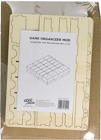 Geekmod gemins35 Organizador Compatible con Neuroshima Hex 3.0