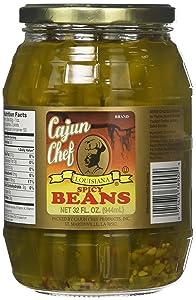 Cajun Chef Louisiana Spicy Green Beans, 32 Ounces