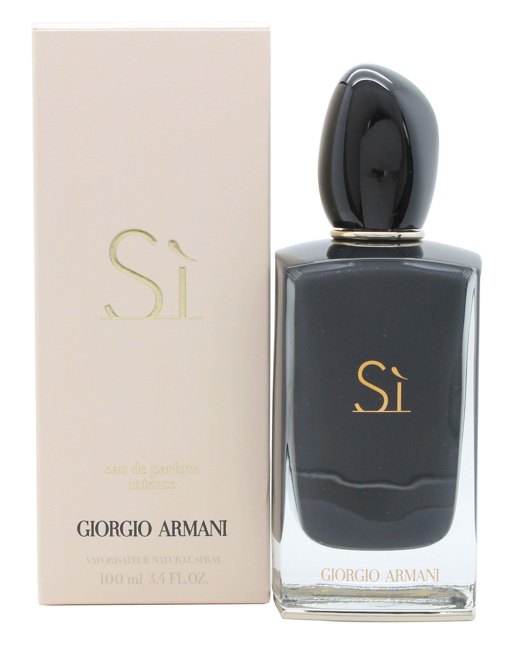 Giorgio Armani Eau De Parfum Si Intense Spray for Women, 3.4 Ounce