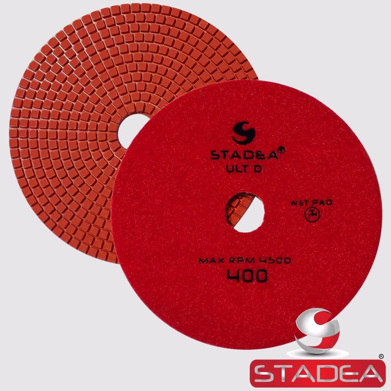 Stadea PPW158X Granite Polishing Pads 7 Diamond Pad 3000 Grit For Granite Quartz Stones Polish