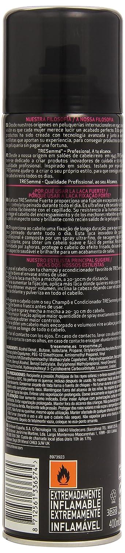 Ingredientes. Agua Ver Descripción del producto TRESemmé Laca Fuerte para  pelo ... f5d892c761b5