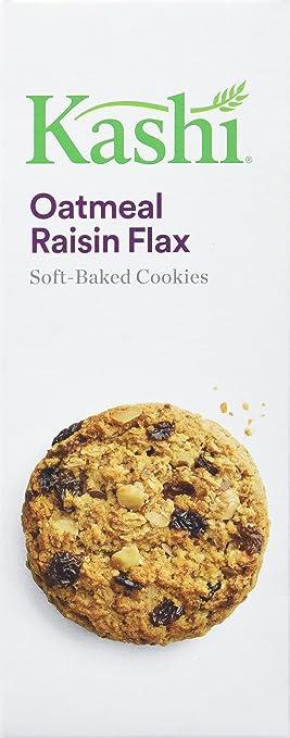 Kashi, Cookies de horneado suave, Oatmeal Raisin Flax, no ...