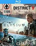 Chappie / District 9 / Elysium - Set [Blu-ray] [Import anglais]