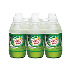 Canada Dry Ginger Ale Soda, 10 Fl Oz (pack of 6)