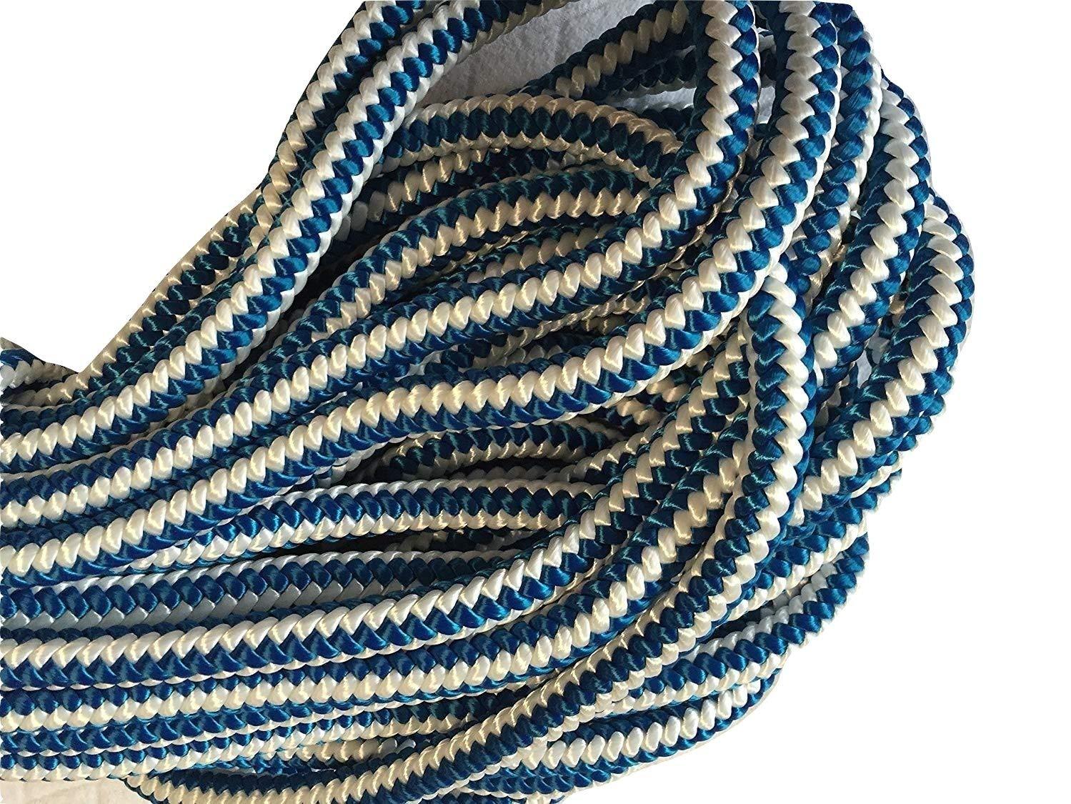 1/2'' X 120 feet, 12-strand Polyester Blue Ox Arborist Climbing Rope