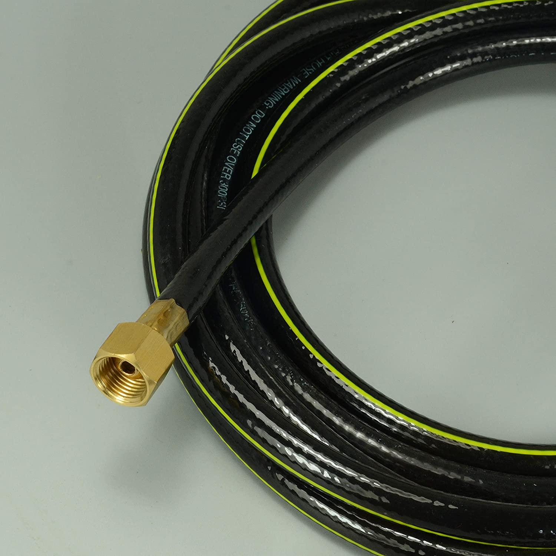 Tuyau de cable dalimentation pour WP17 Torche de soudage TIG 11-1//2 Pied 3,7M,3//8-24 /& M16*1.5
