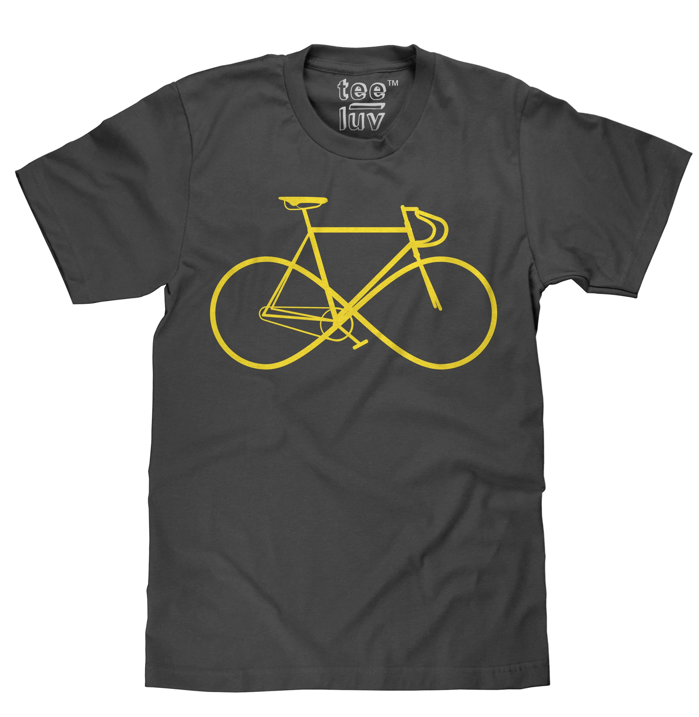 Infinity Sign Bike T-Shirt |Classic Look|100% Cotton-X-Large