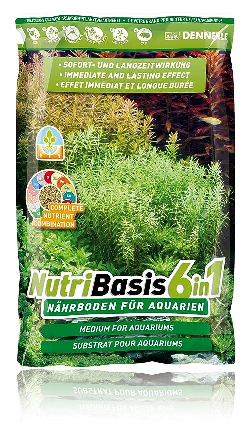 Dennerle nutribasis 6 en 1 acuario sustrato