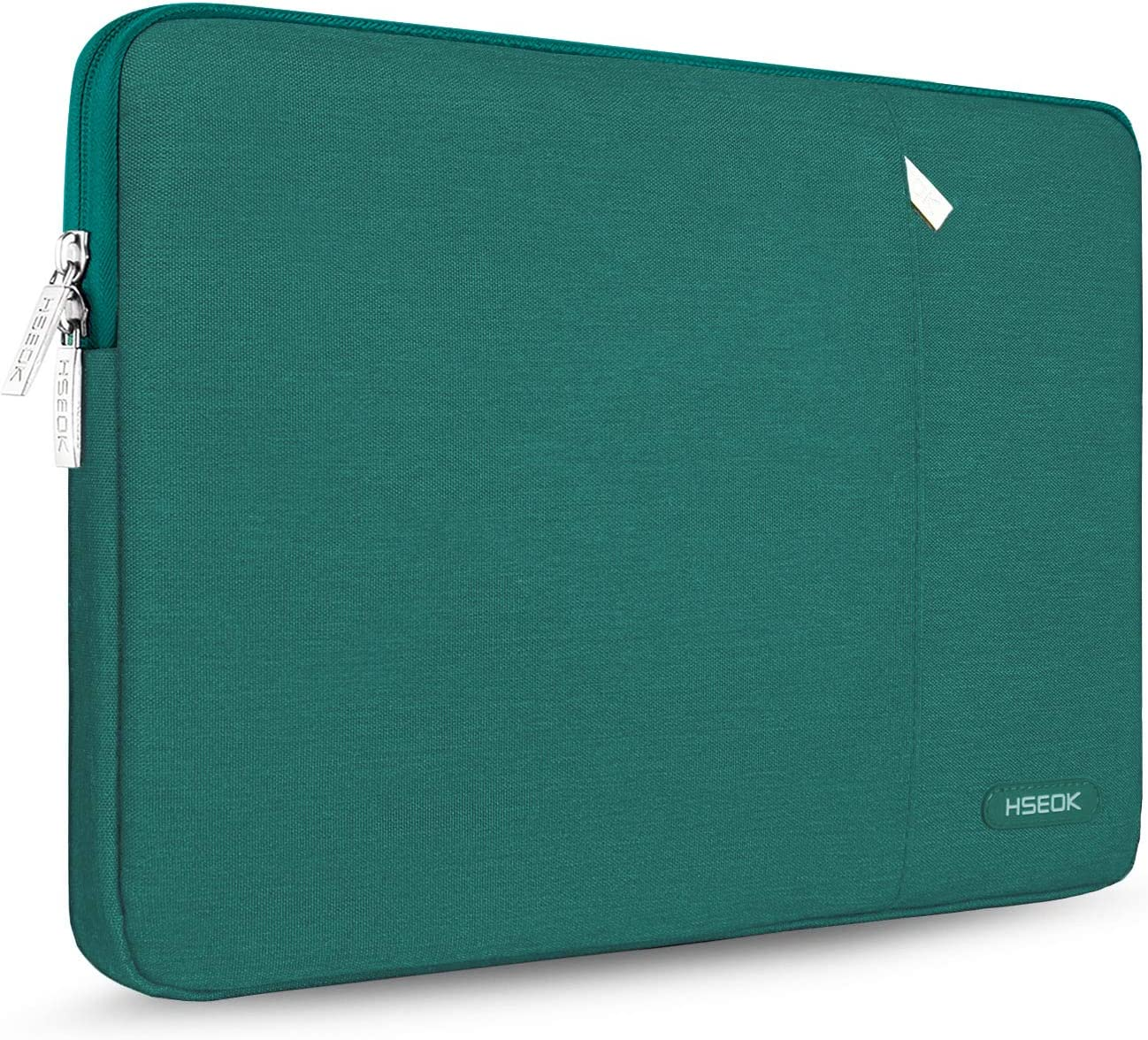 Hseok 15.6-Inch Laptop Case Sleeve, Spill-Resistant Case for 15.4-Inch MacBook Pro 2012 A1286, MacBook Pro Retina 2012-2015 A1398 and Most 15.6-Inch Laptop,Dark Green