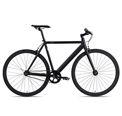 side facing 6KU aluminum fixed gear road bike