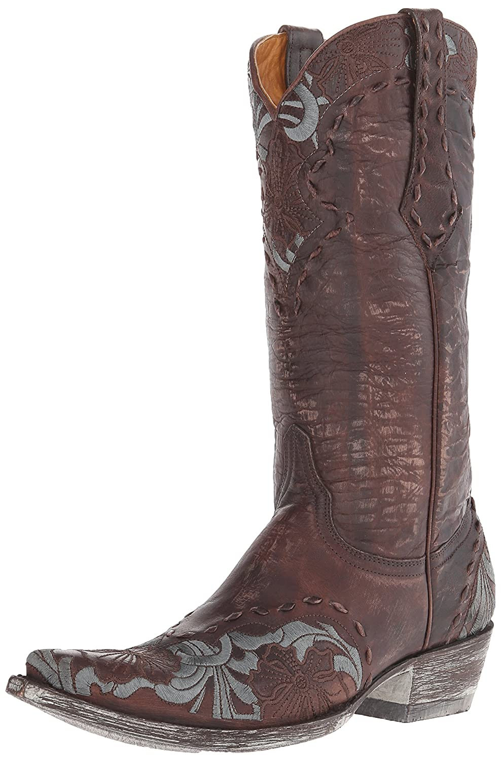 Old Gringo Women's Erin Western L640 Boot B0059NTLY4 7 B(M) US|Chocolate