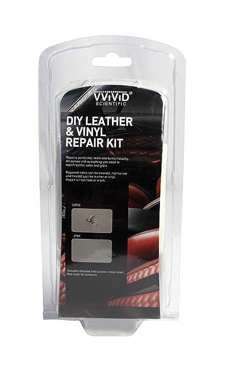 Amazon vvivid do it yourself leather vinyl repair and vvivid do it yourself leather vinyl repair and restoration kit solutioingenieria Choice Image