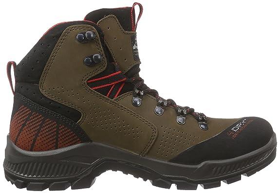 alpina680345 - Zapatillas de Trekking y Senderismo de Media Caña Hombre, Color Marrón, Talla 41