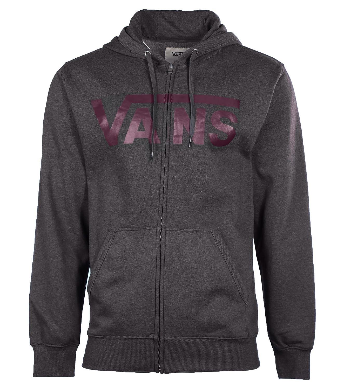 Vans SWEATER メンズ B019GA00TA S|Dark Gray Dark Gray S