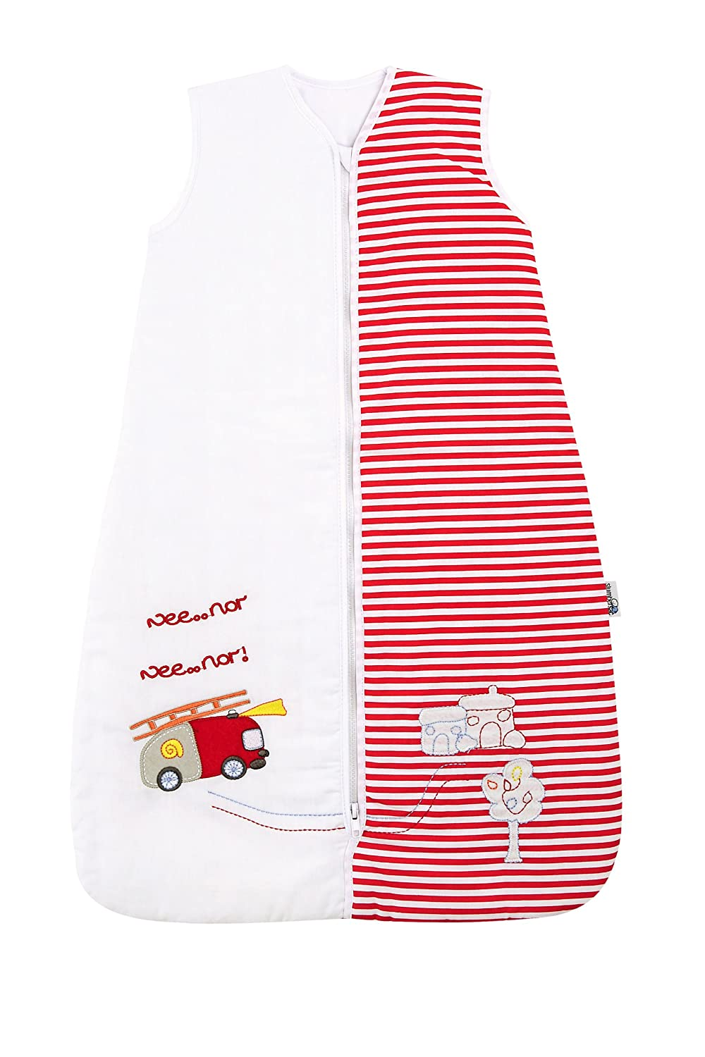 Slumbersafe Baby Sleeping Bag 2.5 Tog - Fire Engine, 0-6 months/SMALL