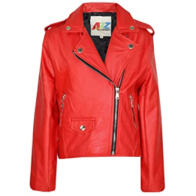 Veste rouge amazon