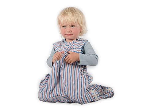 Merino Kids Baby Sleep Bag for Toddlers 2-4 Years Stacked Sheep Print Light Pink