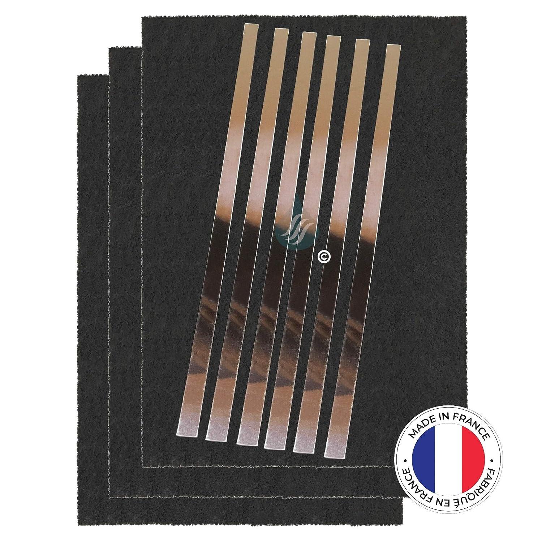Solution Ahead - 3 filtros antiolores de carbón Activado - Compatible con Salter Brandt 74 x 4121 79 x 8361: Amazon.es: Hogar