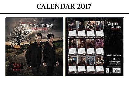 THE VAMPIRE DIARIES OFFICIAL CALENDARIO 2017 + THE VAMPIRE ...