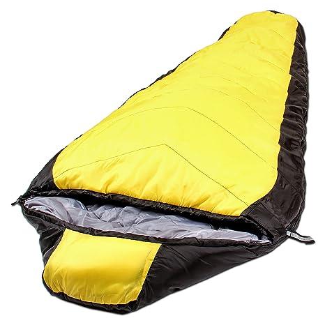 Northstar Tactical coretech Mummy, Multi capa Core saco de dormir, con Camping de compresión