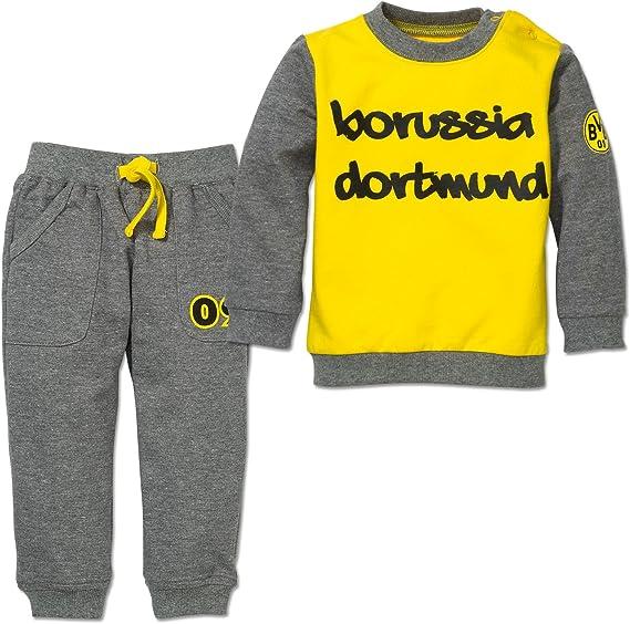 Borussia Dortmund BVB de bebé de chándal para (Largo), Gelb, Grau ...