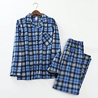 Beancan Mens Sexy Plaid Casual Sleepwear for Male Pyjamas Pijama Hombre Mens Cartoons at Amazon Mens Clothing store: