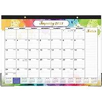 "2021 Desk Calendar - Desk Calendar 2021, 16.8"" x 12"", Jan 2021 - Dec 2021, 12 Months Planning, Large Ruled Blocks, Desk…"