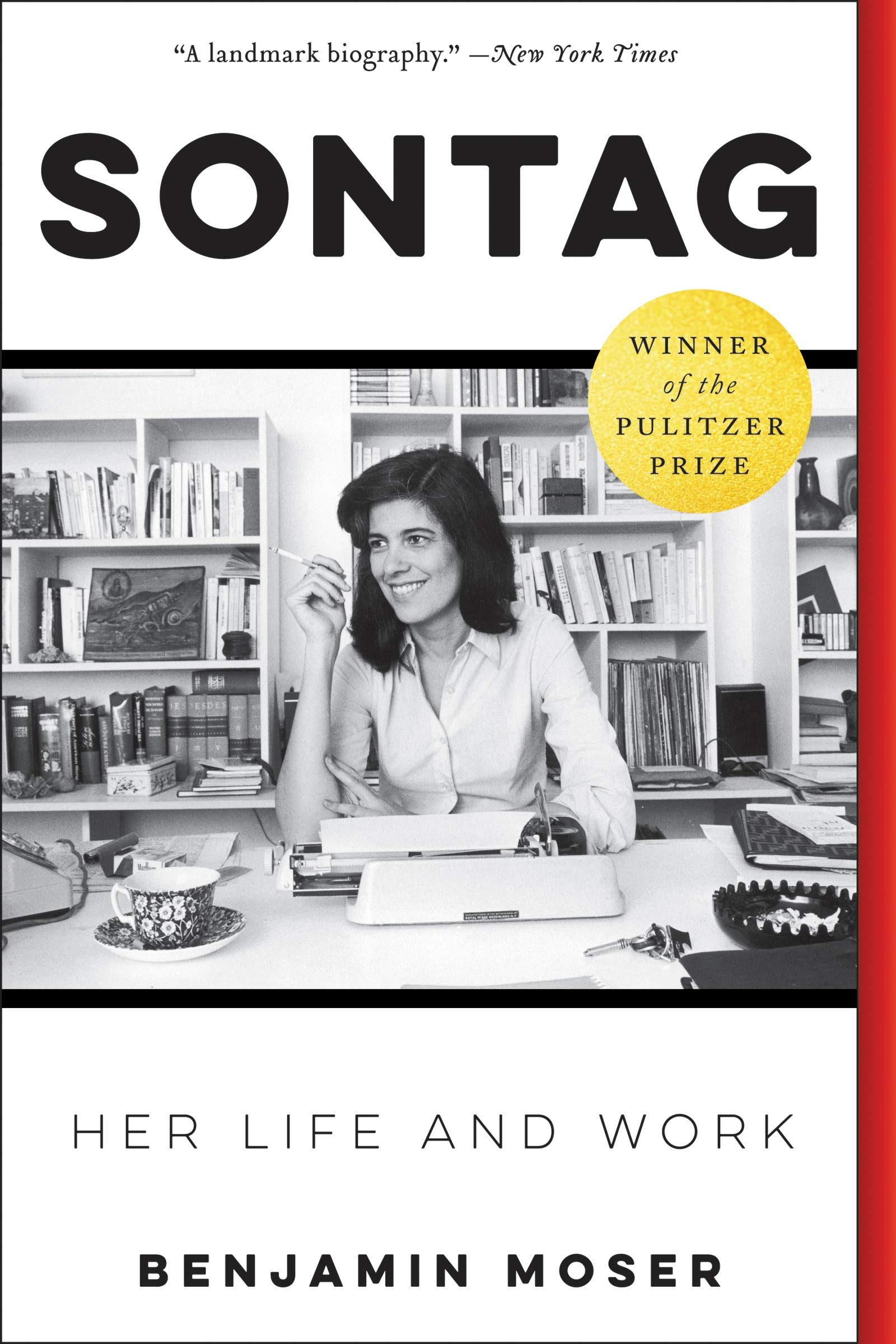 Cover of Sontag: Her Life and Work by Benjamin Moser